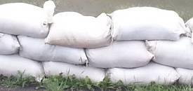 Sandsäcke in Kabelsketal [(c): Karsten Braun]